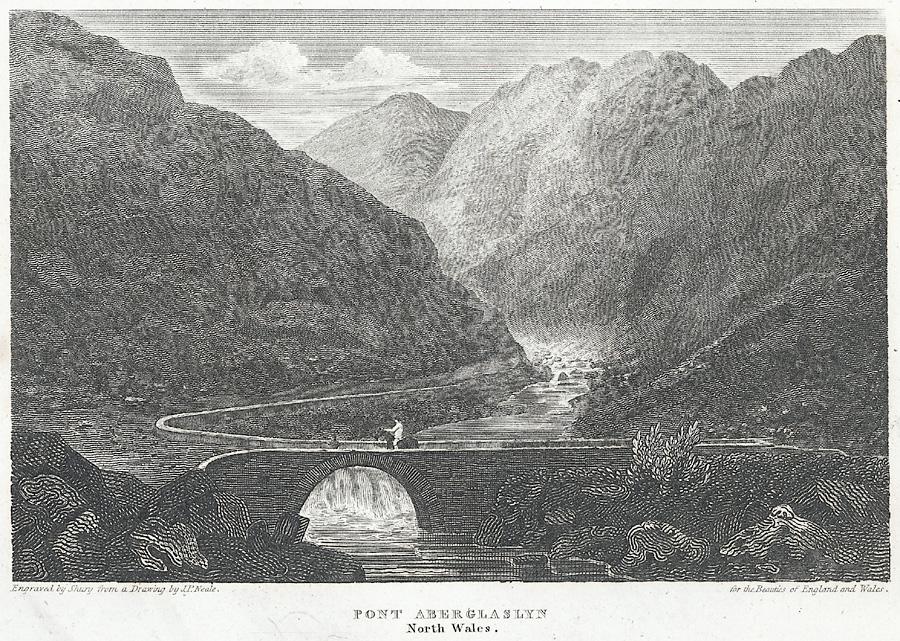 Pont Aberglaslyn, north Wales