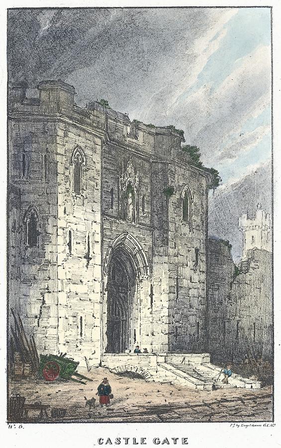 Castle Gate, Caernarvon