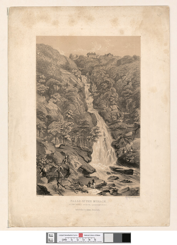 Falls of the Mynach