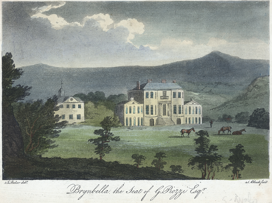 Brynbella the seat of G. Piozzi Esqr