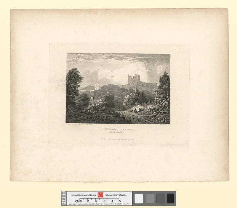 Newport Castle, Pembrokeshire Octr 1 1824