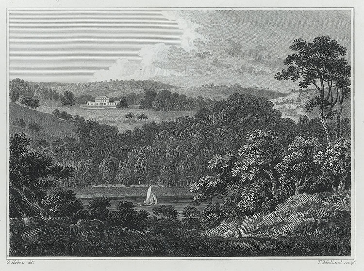 [Piercefield, seen from the opposite heights. The Seat of Mark Wood]