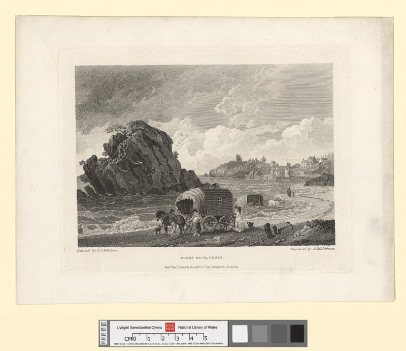 Monk's Rock, Tenby Jany 1 1813