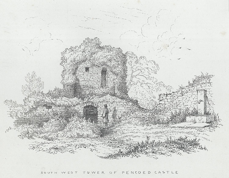South West Tower of Pencoed Castle