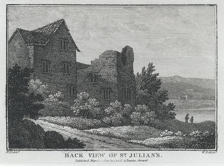 St. Julien's, Back View of St. Julian's