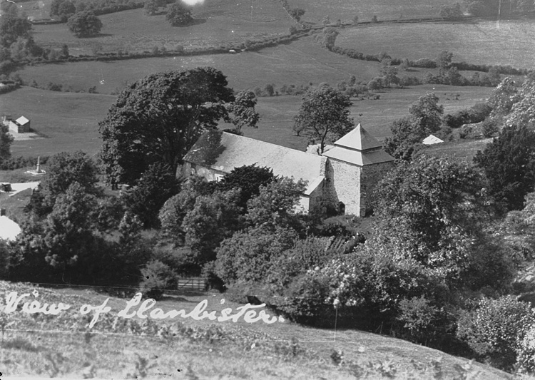 View of Llanbister