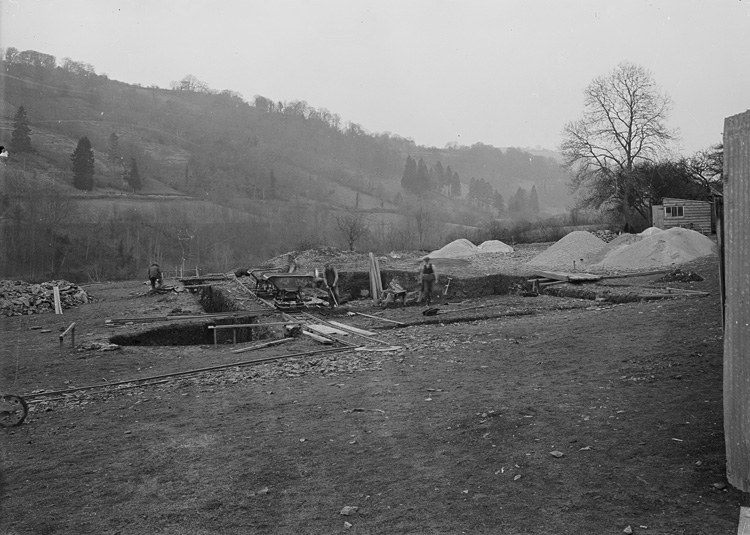 [Excavation, Abbeycwmhir]