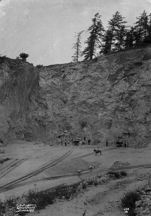 Old Radnor limestone quarries