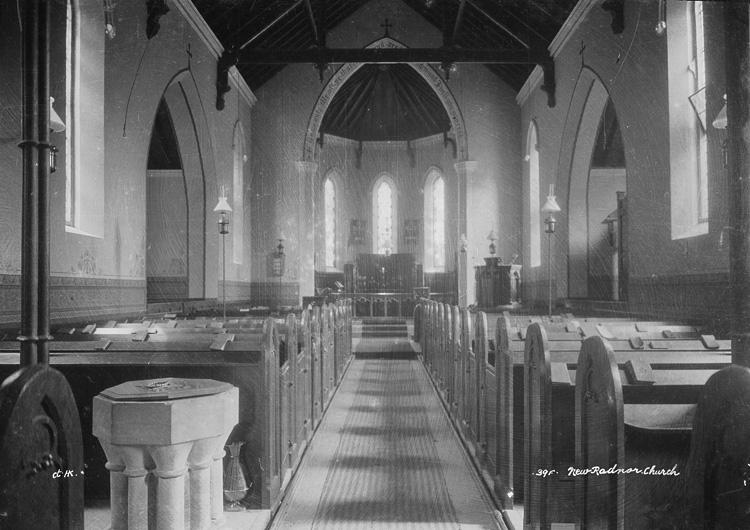 New Radnor church