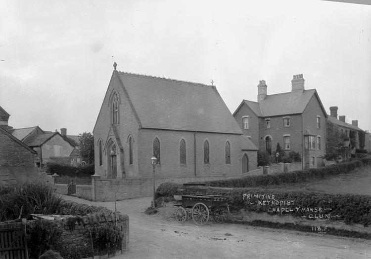 Primitive Methodist chapel & manse Clun