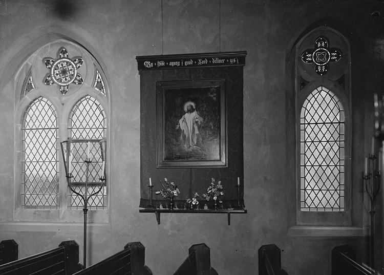 [Unidentified church interior]