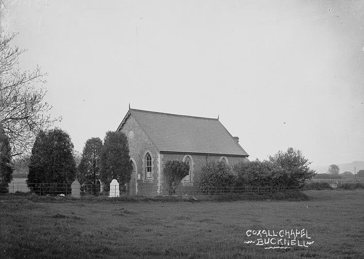 Coxall chapel Bucknell