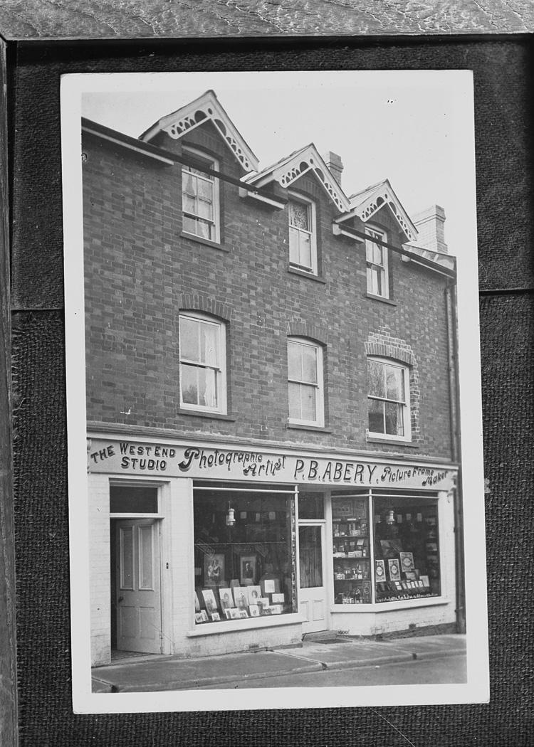 [Photographic studio of P.B. Abery, Builth Wells]