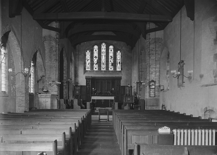 [Interior of St. Cadmarch's church, Llangammarch Wells]