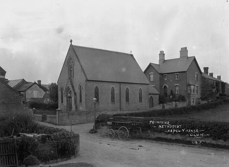 Primitive Methodist chapel & manse, Clun