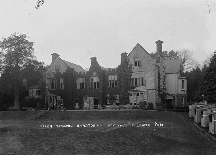 Welsh national sanatorium, Pontywal, Talgarth