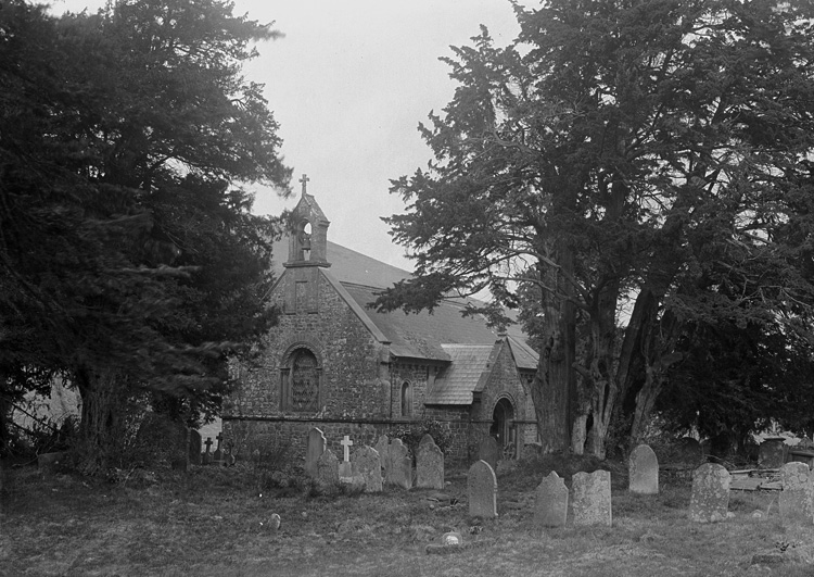 [St Michael's church, Llanfihangel Nant Melan]