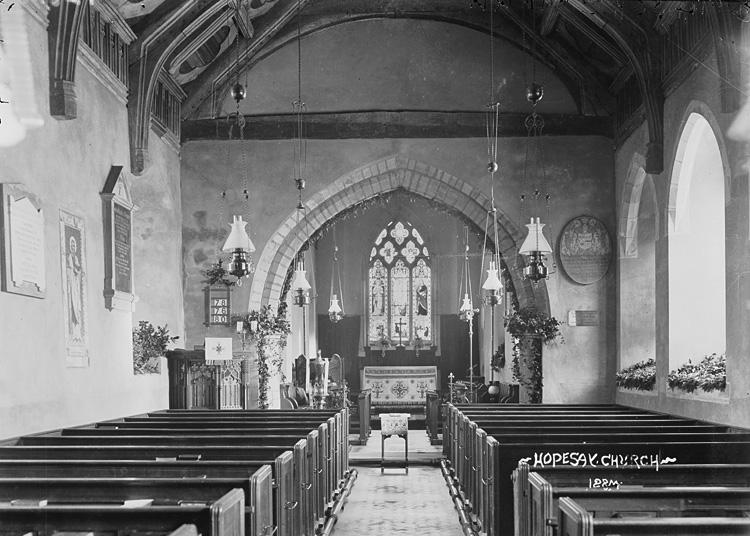 Hopesay church