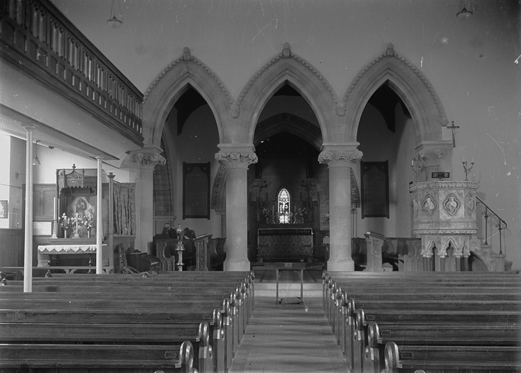 [Interior of unidentified church]