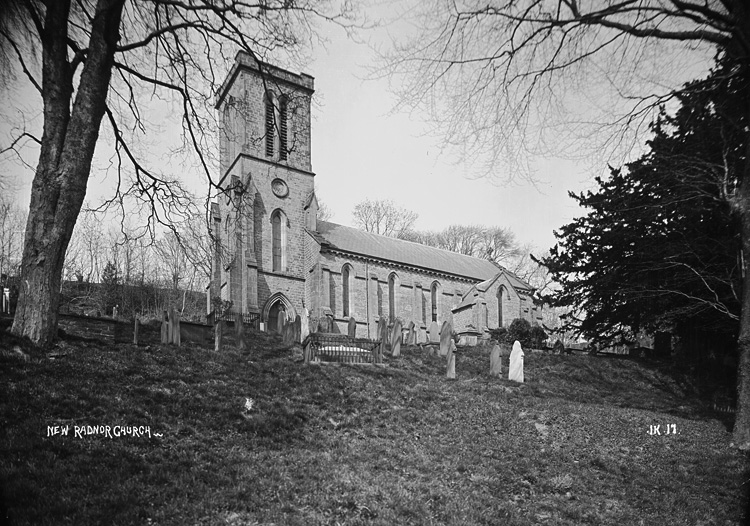 New Radnor church