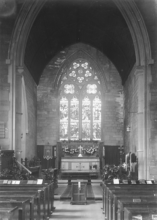 [Interior of St. Mary's church, Builth Wells