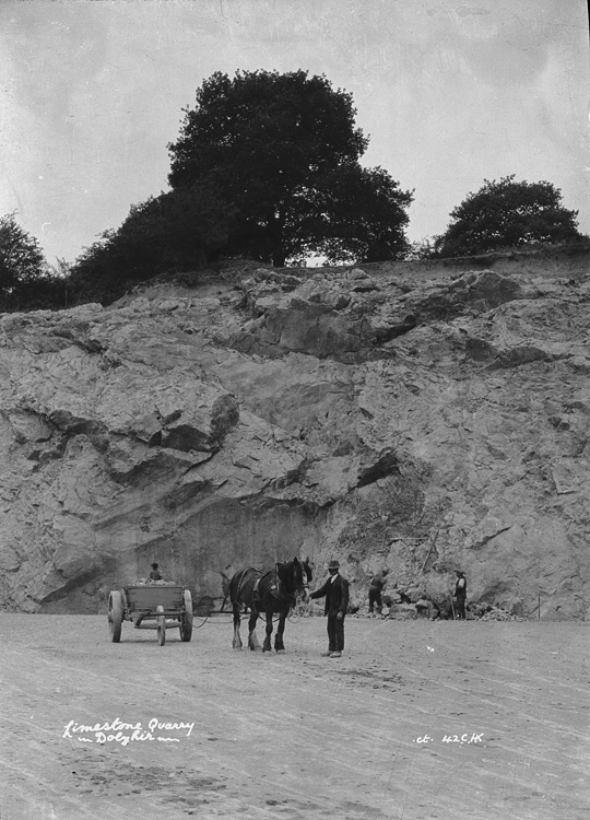 Limestone quarry Dolyhir