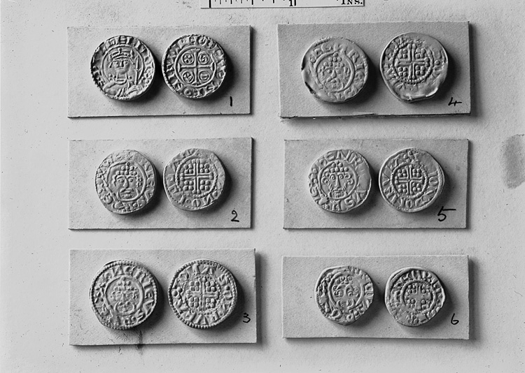 [Historical coins at the British Museum]