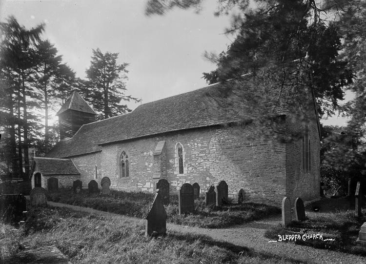 Bleddfa church