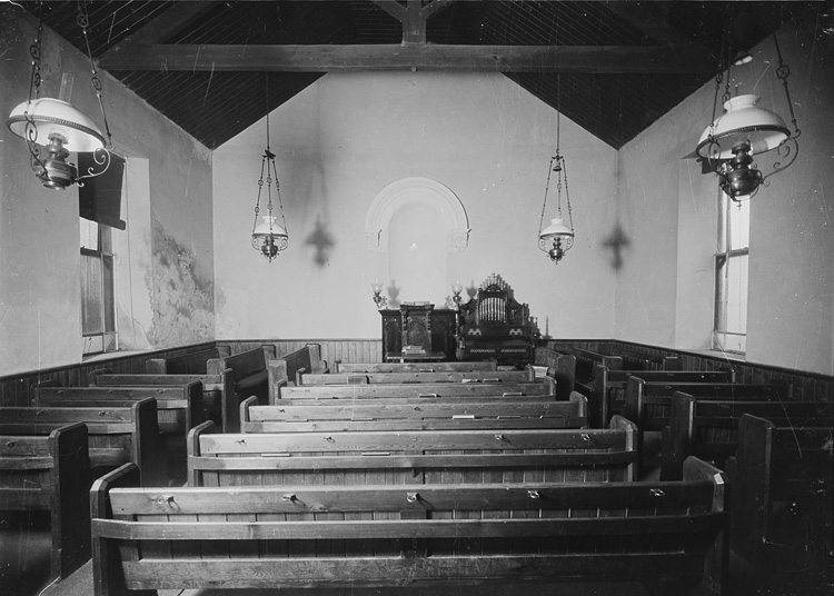 [Unidentified chapel interior]