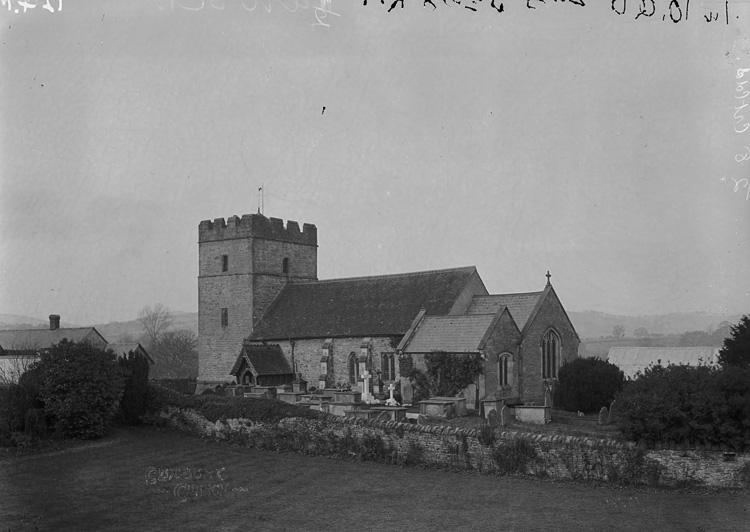 Clunbury church