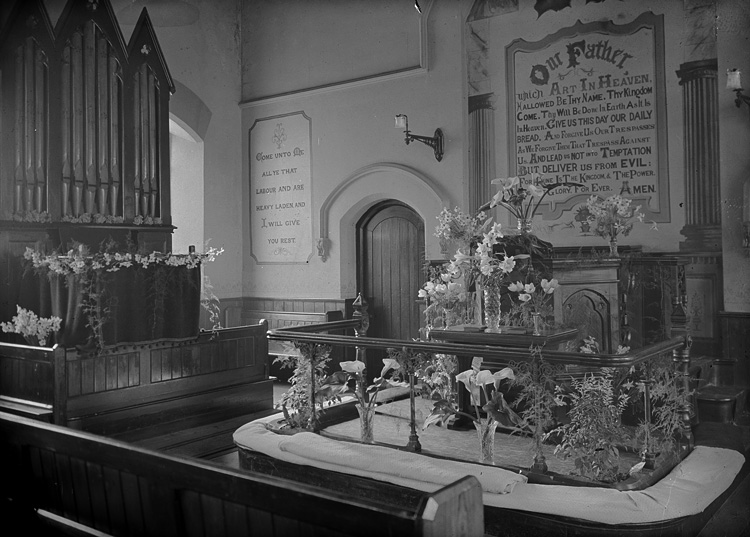 [Interior of Wesley chapel, Builth Wells]