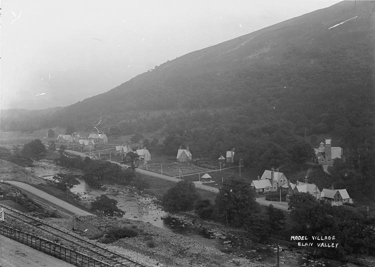 Model village Elan Valley