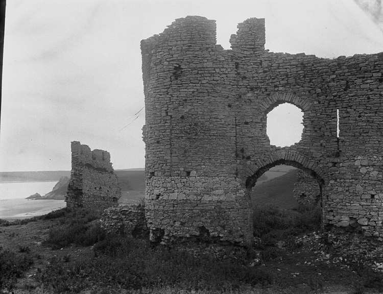 [Pennard castle, Gower]