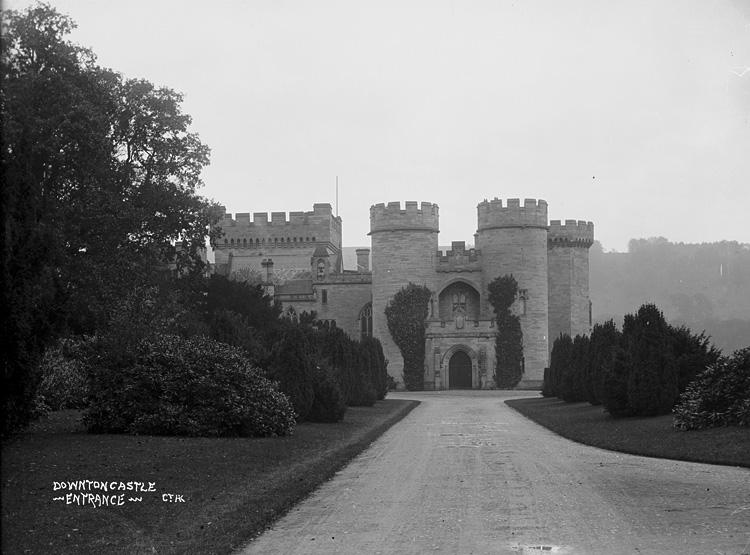 Downton castle entrance
