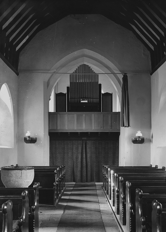 [Unidentified church interior]