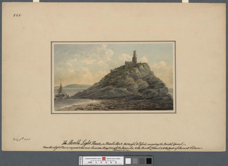 The Mumble light house on Mumble Point