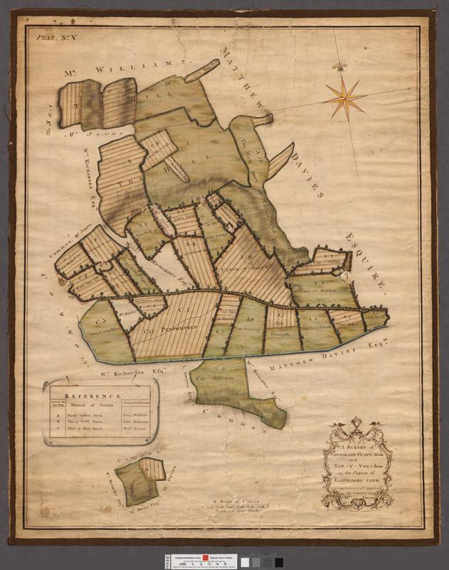 A survey of Nantcollen, Glan-y-Mor and Tan-y-Voel farms in the parish of Llanbadarn vawr in the county of Cardigan