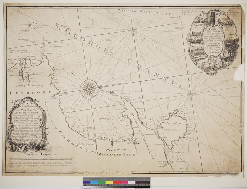 Plans of harbours, bars, bays and roads in St. George's Channel