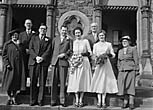 [Wedding of Miss M B Vaughan, Oswestry, to J A Hammond at Christ Church, Oswestry]