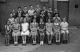 [Pupils of Penygloddfa Council School, Newtown, and evacuee children who gained Scholarships following success in their exams]