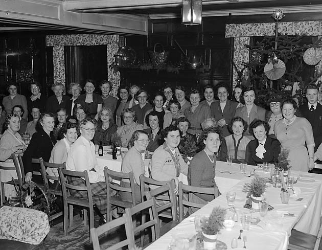 [Llanfyllin Women's Institute Christmas Party]