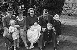 [The christening of Mr. and Mrs. Phillip Davies' baby at Stalloe, Montgomery]