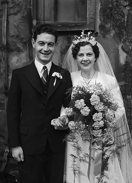 [Wedding of Dennis Parry to Ruby Bevan]