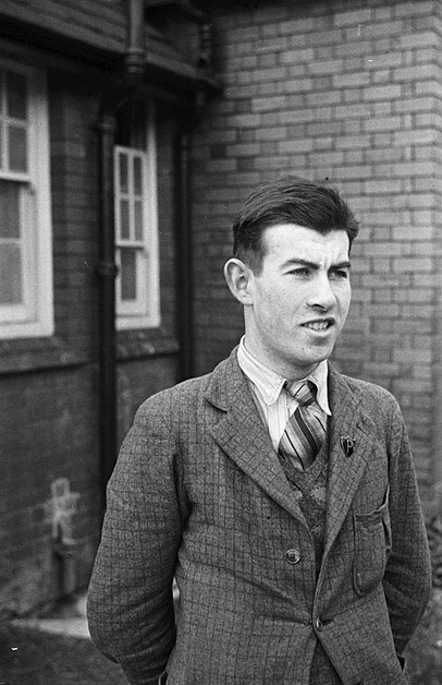 [Percy O. Jones from Llanfyllin County School who won a Price Davies Scholarship to study at the University College of Wales, Aberystwyth]