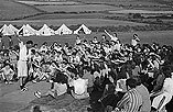 [The Urdd camp, Llangranog]