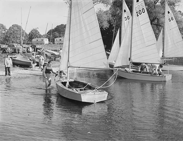 [Shropshire Sailing Club's open meeting at White Mere, Ellesmere]