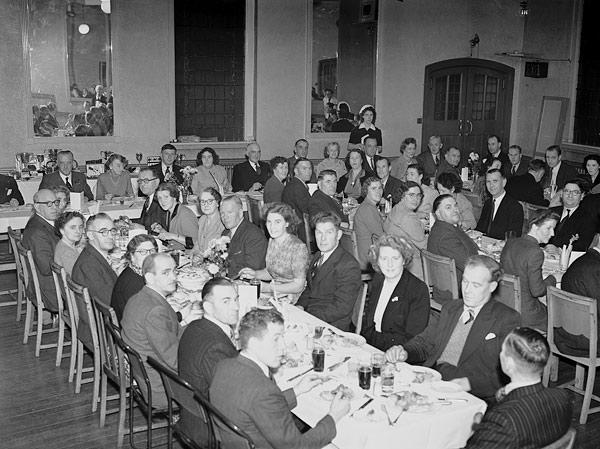 [Battlefield Bowling Club's annual dinner]