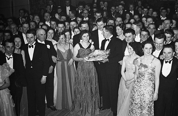 [Welshpool Farmers' Ball at the Town Hall]