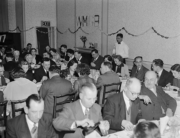 [West Midland Gas Board's dinner at Oswestry]