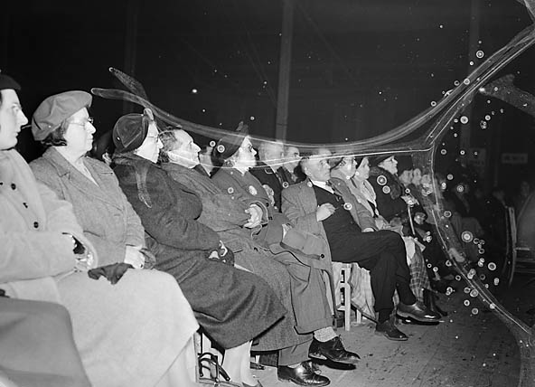 [Aneurin Bevan at a national meeting in Corwen Pavillion]